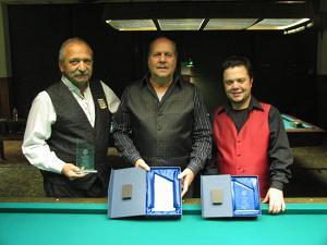 Joe Damato (2nd) - Bob Page (Winner) - Tony Ferrara (3rd)