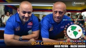 Hugo Patino and Mazin Shooni win in Pan American Team Championship